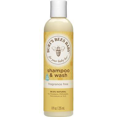 Baby Bee Shampoo & Wash Fragrance Free